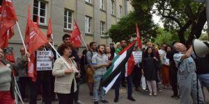 Gazze katliamı Polonya'da protesto edildi