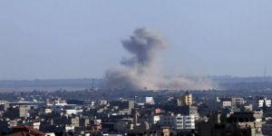 İsrail, Hamas'a ait askeri noktaları vurdu