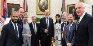Beyaz Saray'da Trump-Guterres görüşmesi
