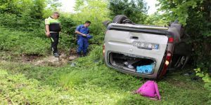 Cenazeye giderken kaza yaptı: 7 yaralı