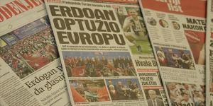 Erdoğan'ın Bosna Hersek ziyareti manşetlerde