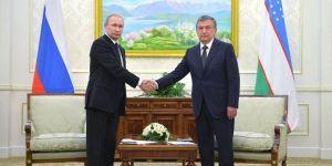 Putin ve Mirziyoyev görüştü