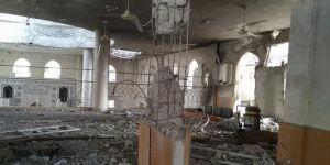 Suriye rejim güçleri, camileri de harabeye çevirdi
