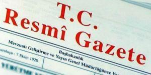 BTP'nin kararı Resmi Gazete'de