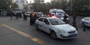 Polisle saldırganlar arasında arbede