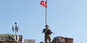 Irak sınırında kahramanlık anıtı