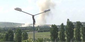 Barut fabrikasında patlama
