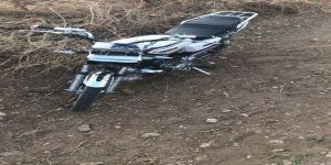 Terk edilmiş motosiklet çalıntı çıktı
