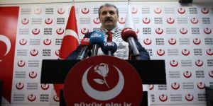 BBP'nin seçim sloganı açıklandı