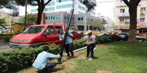 Atatürk Parkı'nda yenileme çalışması başladı