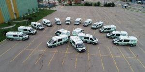 Cenaze araçları ilçe belediyelerine gönderildi