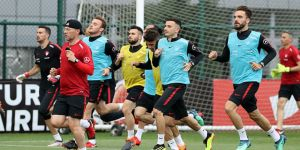 A Milli Takım, Tunus maçı hazırlıklarına başladı