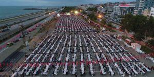 Trabzon'da 12 bin kişilik iftar