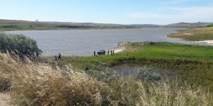 Baraj kenarında ceset bulundu