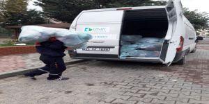 13 ton 510 kilogram tekstil atığı toplandı