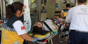 İnşaattan düşen Suriyeli işçi ağır yaralandı