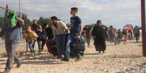 Suriyelilerin dönüşleri sürüyor