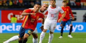 İspanya ile İsviçre 1-1 berabere kaldı