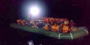 14 kaçak göçmen yakalandı
