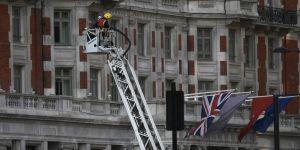 12 katlı otelde yangın