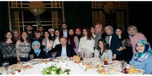 Erdoğan, Külliye'de gençleri ağırladı