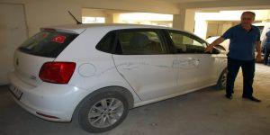 İYİ Parti yöneticilerinin araçlarına zarar verildi