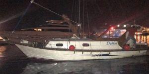 Kayıp tekne karaya oturmuş olarak bulundu