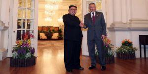 Kim, Singapur Başbakanı ile görüştü
