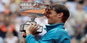 Fransa'da şampiyon yine Nadal