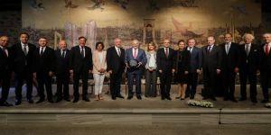 Başbakan, TÜSİAD üyelerini kabul etti