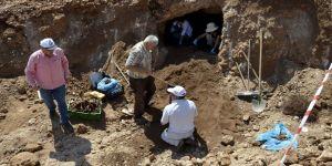 Bizans dönemine ait mezar bulundu