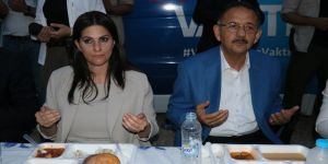 Bakan Sarıeroğlu ve Bakan Özhaseki vatandaşlarla buluştu
