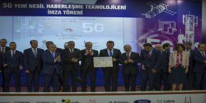 5G yeni nesil haberleşme teknolojileri için imzalar atıldı