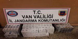 754 paket kaçak sigara ele geçirildi