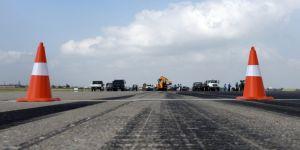 İncirlik Hava Üssü'nde pist onarımı tamamlandı
