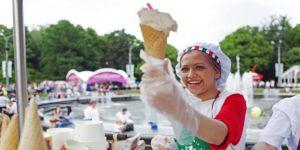 620 ton dondurma tüketilecek