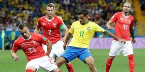 Brezilya: 1 - İsviçre: 1