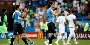 Uruguay, üst tura çıkmayı garantiledi