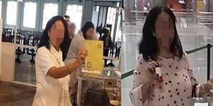 İki kez oy kullandığı iddia edilen kadın serbest bırakıldı
