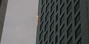 Gökdelen yangını
