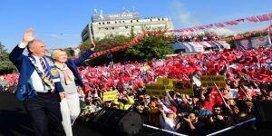 Cumhurbaşkanı adayı İnce, Ankaralılara hitap etti