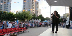 Bakan Çelik ve Bakan Sarıeroğlu mitingde halka seslendi
