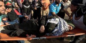 Gazze'deki çatışmalarda 206 Filistinli yaralandı