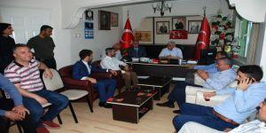 MHP ve AK Parti biraya geldi