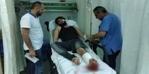 Silahlı saldırıya uğrayan Suriyeli hastanelik oldu