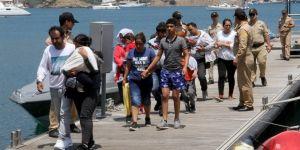 15 sığınmacı yakalandı