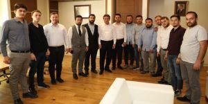 Gençlerden Demirci'ye ziyaret