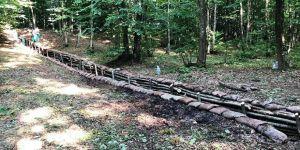 93 yıl sonra ormanın ortasında bulundu
