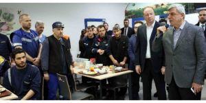 Başkan Karaosmanoğlu, Gebze'deki işçilerle buluştu