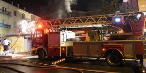Fırında yangın çıktı: 1 ölü